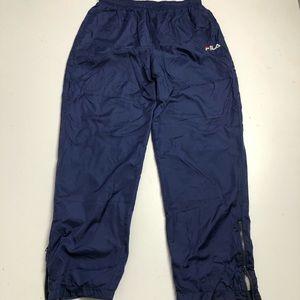 Vintage Fila Men's Splashpants XXL Blue